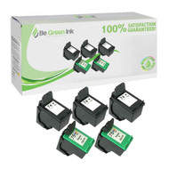 HP 74 & 75 CB335 & CB337 Remanufactured Ink Cartridge Five Pack Savings Pack BGI Eco Series Compatible