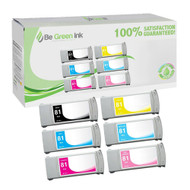 HP 81 Ink Cartridge 6 Pack Savings Pack BGI Eco Series Compatible