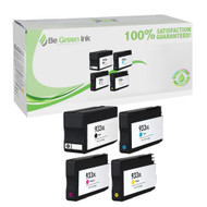 HP 932XL & 933XL Ink Cartridge 4-Pack Savings Pack BGI Eco Series Compatible