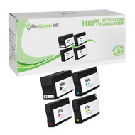 HP 950XL & 951XL Ink Cartridge 4-Pack Color Set C2P01FN BGI Eco Series Compatible