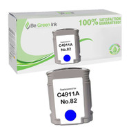 HP C4911AN (HP 82) Remanufactured Cyan Ink Cartridge BGI Eco Series Compatible