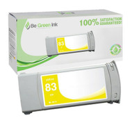 HP C4943A (HP 83) Pigment UV Yellow Ink Cartridge BGI Eco Series Compatible