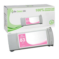 HP C4945A (HP 83) Pigment UV Light Magenta Ink Cartridge BGI Eco Series Compatible
