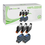 HP 51645A, C1823D Remanufactured Ink Cartridge Savings Pack BGI Eco Series Compatible