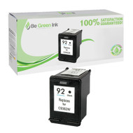 HP C9362W (HP 92) Remanufactured Black Ink Cartridge BGI Eco Series Compatible