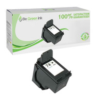 HP CB335WN (HP 74) Remanufactured Black Ink Cartridge BGI Eco Series Compatible