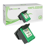 HP CB337WN (HP 75) Remanufactured Color Ink Cartridge BGI Eco Series Compatible