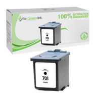 HP CC635A (HP 701) Remanufactured Black Ink Cartridge BGI Eco Series Compatible