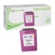 HP CC656AN (HP 901) Remanufactured Color Ink Cartridge BGI Eco Series Compatible