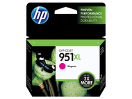HP CN047AN (HP 951XL) OEM Magenta Ink Cartridge