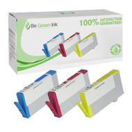 HP CN066FN#140 Inkjet Cartridge 3 Color Savings Pack BGI Eco Series Compatible