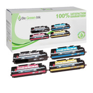HP Color LaserJet 3500, 3550 Laser Toner Cartridge Savings Pack (K,C,M,Y) - ( HP 308A & 309A ) BGI Eco Series Compatible