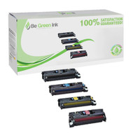 HP Color LaserJet 8500, 8550 Laser Toner Cartridge Savings Pack (K/C/M/Y) BGI Eco Series Compatible