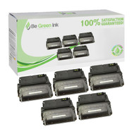 HP Q1338A (HP 38A) Set of Five Cartridges Savings Pack ($38.53/ea) BGI Eco Series Compatible