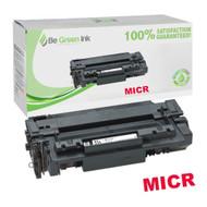 HP Q7551X (HP 51X) Black MICR Toner Cartridge 13K Page Yield (For Check Printing) BGI Eco Series Compatible