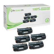 HP Q7553X (HP 53X) Hi-Yield Set of Five Cartridges Savings Pack ($19.72/ea) BGI Eco Series Compatible