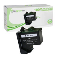 Lexmark 10N0016 (No. 16) Remanufactured Black Ink Cartridge BGI Eco Series Compatible