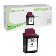 Lexmark 12A1970 (No. 70) Remanufactured Black Ink Cartridge BGI Eco Series Compatible