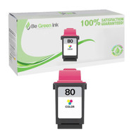 Lexmark 12A1980 (No. 80) Remanufactured Color Ink Cartridge BGI Eco Series Compatible