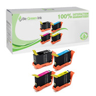 Lexmark 14N16 (150XL) Ink Cartridge High Yield 4 Pack Savings Pack BGI Eco Series Compatible