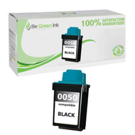 Lexmark 17G0050 (No. 50) Remanufactured Black Ink Cartridge BGI Eco Series Compatible