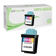 Lexmark 17G0060 (No. 60) Remanufactured Color Ink Cartridge BGI Eco Series Compatible