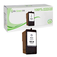 Lexmark 18C0034 (No. 34) Remanufactured Black Ink Cartridge BGI Eco Series Compatible