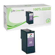 Lexmark 18C0035 (No. 35) Remanufactured Color Ink Cartridge BGI Eco Series Compatible
