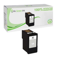 Lexmark 18C2090 (No. 14) Remanufactured Black Ink Cartridge BGI Eco Series Compatible