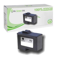 Lexmark 18L0032 (No. 82) Remanufactured Black Ink Cartridge BGI Eco Series Compatible