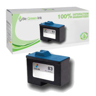 Lexmark 18L0042 (No. 83) Remanufactured Color Ink Cartridge BGI Eco Series Compatible
