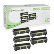 Lexmark 50F1H00 Five Pack Cartridges Savings Pack BGI Eco Series Compatible