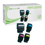 Lexmark C540 Toner Cartridge Savings Pack (C,K,M,Y) BGI Eco Series Compatible
