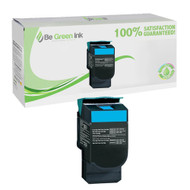 Lexmark C544X2CG High Yield Cyan Laser Toner Cartridge BGI Eco Series Compatible
