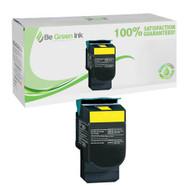 Lexmark C544X2YG High Yield Yellow Laser Toner Cartridge BGI Eco Series Compatible