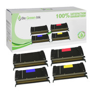 Lexmark C736/C738 Series CMYK Toner Cartridge Savings Pack BGI Eco Series Compatible