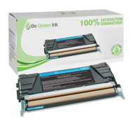 Lexmark C748H1CG Cyan Toner Cartridge BGI Eco Series Compatible