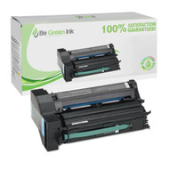 Lexmark C7720CX Super Yield Cyan Laser Toner Cartridge BGI Eco Series Compatible
