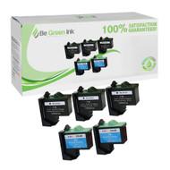 Lexmark No. 16 & 26 Remanufactured Ink Cartridge Five Pack Savings Pack BGI Eco Series Compatible