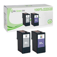 Lexmark No. 36XL & No. 37XL Ink Cartridge 2 Pack Savings Pack BGI Eco Series Compatible