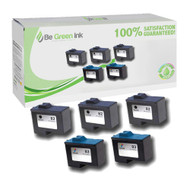 Lexmark No. 82 & 83 Remanufactured Ink Cartridge Five Pack Savings Pack BGI Eco Series Compatible