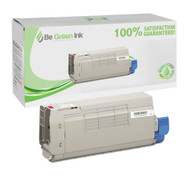 Okidata 43866102 Magenta Laser Toner Cartridge BGI Eco Series Compatible