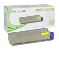 Okidata 44059213 Yellow Toner Cartridge BGI Eco Series Compatible