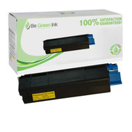 Okidata 42127401 High Yield Yellow Laser Toner Cartridge BGI Eco Series Compatible
