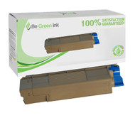 Okidata 43324403 Cyan Laser Toner Cartridge BGI Eco Series Compatible