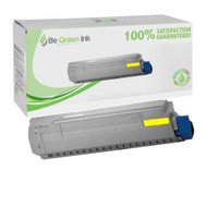 Okidata 44844509 Yellow Toner Cartridge BGI Eco Series Compatible