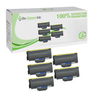 Brother TN360 Toner Cartridges Super Yield 100% extra Black Toner 5-pack($21.70/ea) BGI Eco Series Compatible
