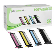 Samsung CLP-315 Series Toner Cartridge Color Savings Pack (C,M,Y,K) BGI Eco Series Compatible