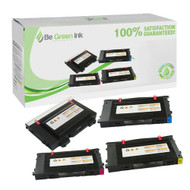 Samsung CLP-510 Series Toner Cartridge Color Savings Pack BGI Eco Series Compatible
