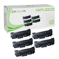 Toner Cartridges With Samsung MLT-D116L 5-Pack BGI Eco Series Compatible